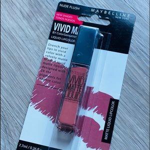 2/$10 Maybelline Vivid Matte Lipcolor, Nude Flush